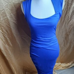 Felicity and coco bodycon dress shirred sides M